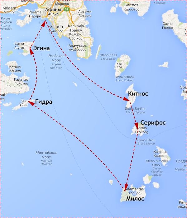 Map-Greece